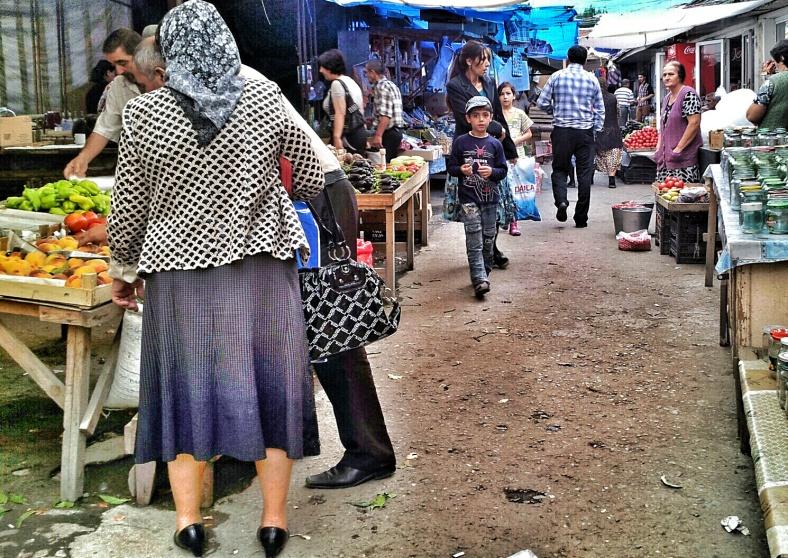 bazaar in Azerbaijan