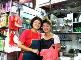 Shopkeepers' Stories - coffee at a hawker center in Singapore