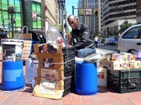 Shopkeeper Stories - Larry Hunt Bucket Man San Francisco