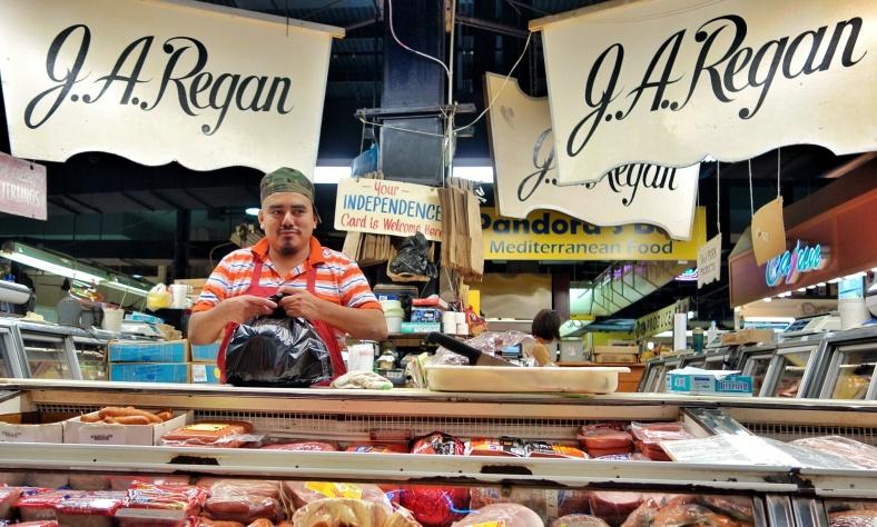 Shopkeeper Stories - butcher Lexington Market Baltimore