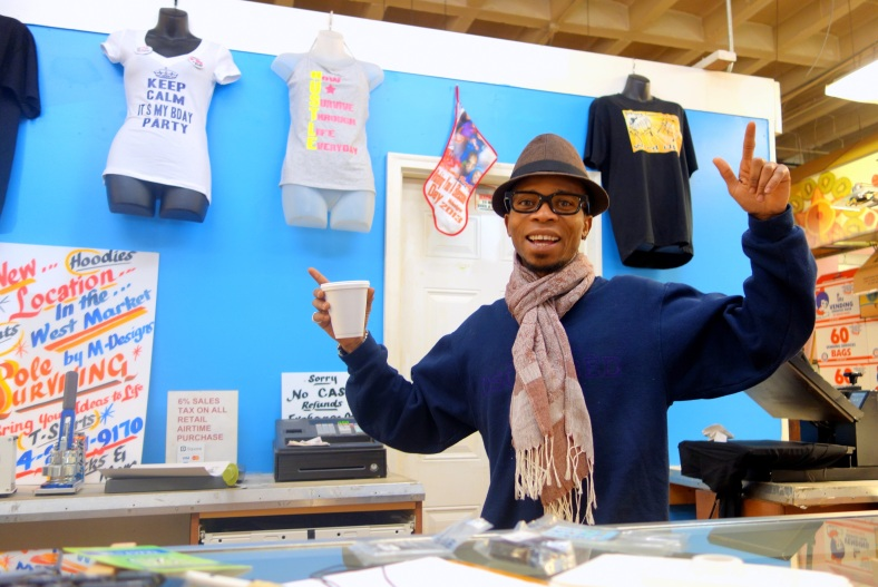 Shopkeeper Stories at Lexington Market in Baltimore small business