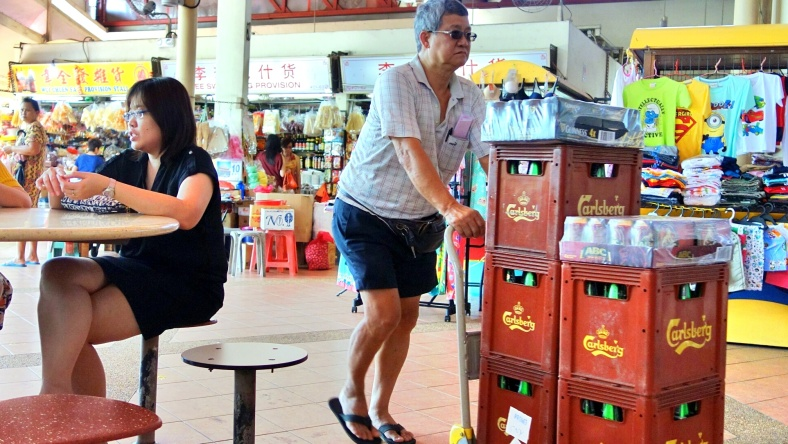 Shopkeeper Stories Singapore hawker centre