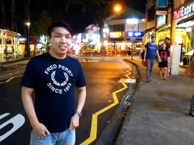 Abel Neoh from Mainzsq in Singapore running a small business that sells electronic gadgets through ecommerce in an interview with Shopkeeper Stories