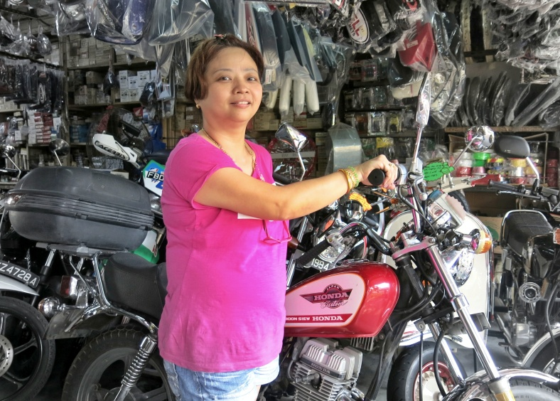 Motorcycle  shop in Singapore | Shopkeeper Stories