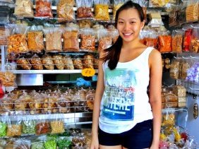 Snacks, biscuits, and dried fruits at the Redhill market in Singapore | Shopkeeper Stories