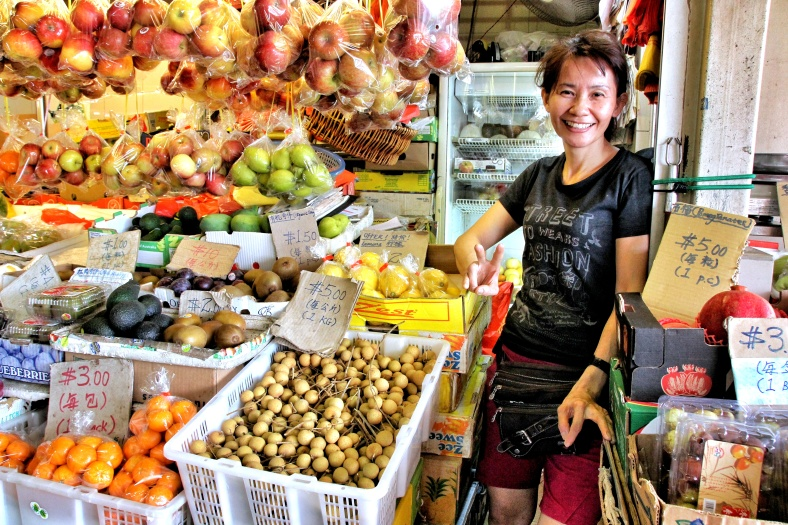 Fruits at Clementi West market in Singapore | Shopkeeper Stories