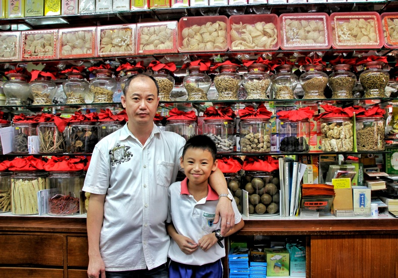 Traditional chinese medicine shop in Singapore selling a variety of herbs such as ginseng| Shopkeeper Stories