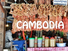 Old Market in Siem Reap, Cambodia