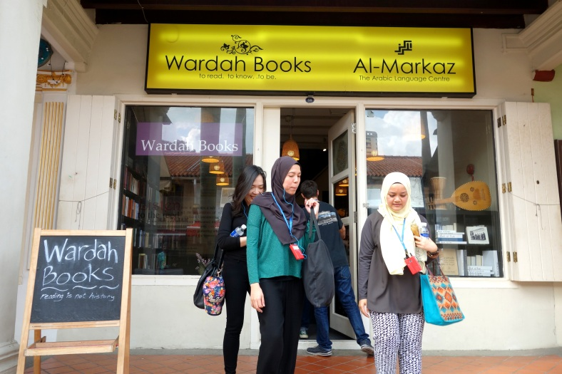 Wardah Books with the owner Ibrahim Tahir in Singapore - a series on bookstores by Shopkeeper Stories that features small business owners with their trades around the world | ShopkeeperStories.com