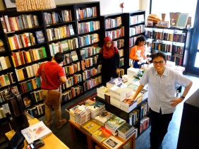 Wardah Books with the owner Ibrahim Tahir in Singapore - a series on bookstores by Shopkeeper Stories that features small business owners around the world